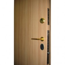 Metāla durvis ar slēdzeni-zirneklis MOTTURA 52.771+cilindra mehānisms
